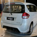 Suzuki Ertiga Sporty launched Indonesia rear three quarters