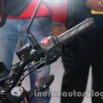 Suzuki Gixxer engine kill switch at Auto Expo 2014