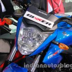 Suzuki Gixxer headlamp at Auto Expo 2014