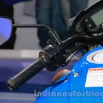 Suzuki Gixxer switchgear at Auto Expo 2014
