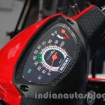 Suzuki Let's instrument cluster at Auto Expo 2014