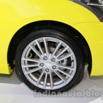 Suzuki Swift Sport alloy wheel design at Auto Expo 2014