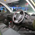 Suzuki Swift Sport dashboard driver side at Auto Expo 2014