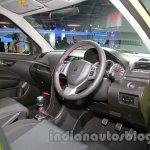 Suzuki Swift Sport dashboard driver side at Auto Expo 2014