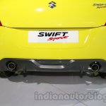 Suzuki Swift Sport exhaust at Auto Expo 2014