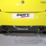 Suzuki Swift Sport exhaust at Auto Expo 2014
