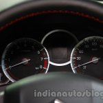 Suzuki Swift Sport instrument binnacle at Auto Expo 2014