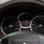 Suzuki Swift Sport instrument binnacle at Auto Expo 2014