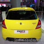 Suzuki Swift Sport rear at Auto Expo 2014