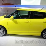 Suzuki Swift Sport side co-driver at Auto Expo 2014