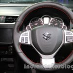 Suzuki Swift Sport steering wheel at Auto Expo 2014