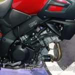 Suzuki V-Strom 1000 ABS engine at 2014 Auto Expo