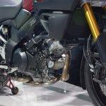 Suzuki V-Strom 1000 ABS engine from Auto Expo 2014
