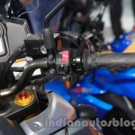 Suzuki V-Strom 1000 ABS engine kill switch at 2014 Auto Expo