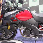 Suzuki V-Strom 1000 ABS fairing at 2014 Auto Expo