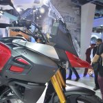 Suzuki V-Strom 1000 ABS front cowl from Auto Expo 2014