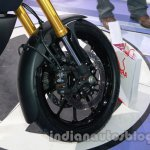 Suzuki V-Strom 1000 ABS front wheel at 2014 Auto Expo
