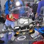 Suzuki V-Strom 1000 ABS handlebar at 2014 Auto Expo