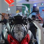 Suzuki V-Strom 1000 ABS headlamp from Auto Expo 2014