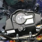 Suzuki V-Strom 1000 ABS instrument cluster at 2014 Auto Expo