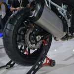 Suzuki V-Strom 1000 ABS rear wheel from Auto Expo 2014