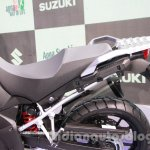 Suzuki V-Strom 1000 ABS seating at 2014 Auto Expo