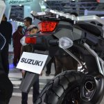 Suzuki V-Strom 1000 ABS taillight from Auto Expo 2014