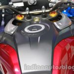 Suzuki V-Strom 1000 ABS tank at 2014 Auto Expo