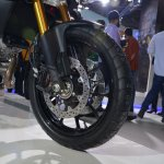 Suzuki V-Strom 1000 ABS wheel from Auto Expo 2014