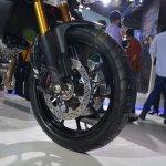 Suzuki V-Strom 1000 ABS wheel from Auto Expo 2014