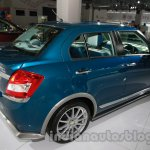 Swift dZire Opula rear three quarter right live