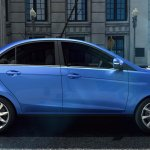 TATA Zest press shot side