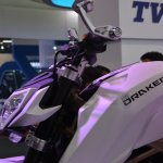 TVS Draken - X21 concept front cowl and tank