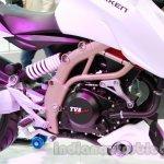 TVS Draken - X21 frame detail live