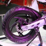 TVS Draken - X21 rear wheel detail live