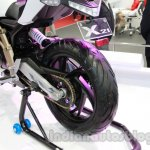 TVS Draken - X21 rear wheel profile live