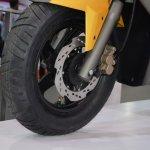 TVS Graphite Concept front disc brake