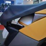 TVS Graphite Concept seat edge