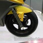 TVS Graphite concept front wheel details live