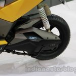 TVS Graphite concept rear suspension detail live