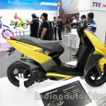 TVS Graphite concept rear three quarter live