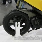 TVS Graphite concept rear wheel details live