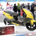 TVS Graphite concept side profile live