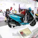 TVS Scooty Zest 110 cc at Auto Expo 2014