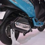 TVS Scooty Zest 110 cc exhaust from 2014 Auto Expo