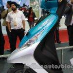 TVS Scooty Zest 110 cc front fascia side