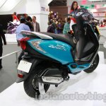 TVS Scooty Zest 110 cc rear three quarters right