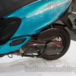 TVS Scooty Zest 110 cc rear wheel and suspension