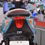 TVS Scooty Zest 110 cc taillight from 2014 Auto Expo