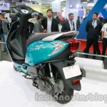 TVS Scooty Zest rear three quarter live